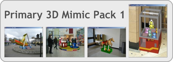 Primary 3D Mimic Pack 1