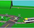 Railroad Crossing (included with Flowol 4)